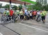 Last ride with Pattani bicycle club
