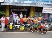 with Bicycle club at Sisaket