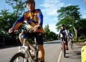 Bicycle group from Kleang, Rayong