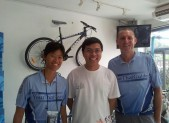 with world bike in Chonburi