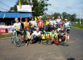 with Bicycle club at Ubon