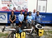 with bicycle club in loei