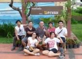 June, Joy and the gang at Nakorn Panom