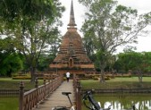 old city in Sukhothai